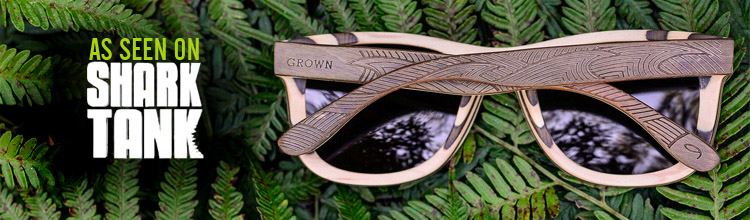 Grown Sustainable wood eyewear